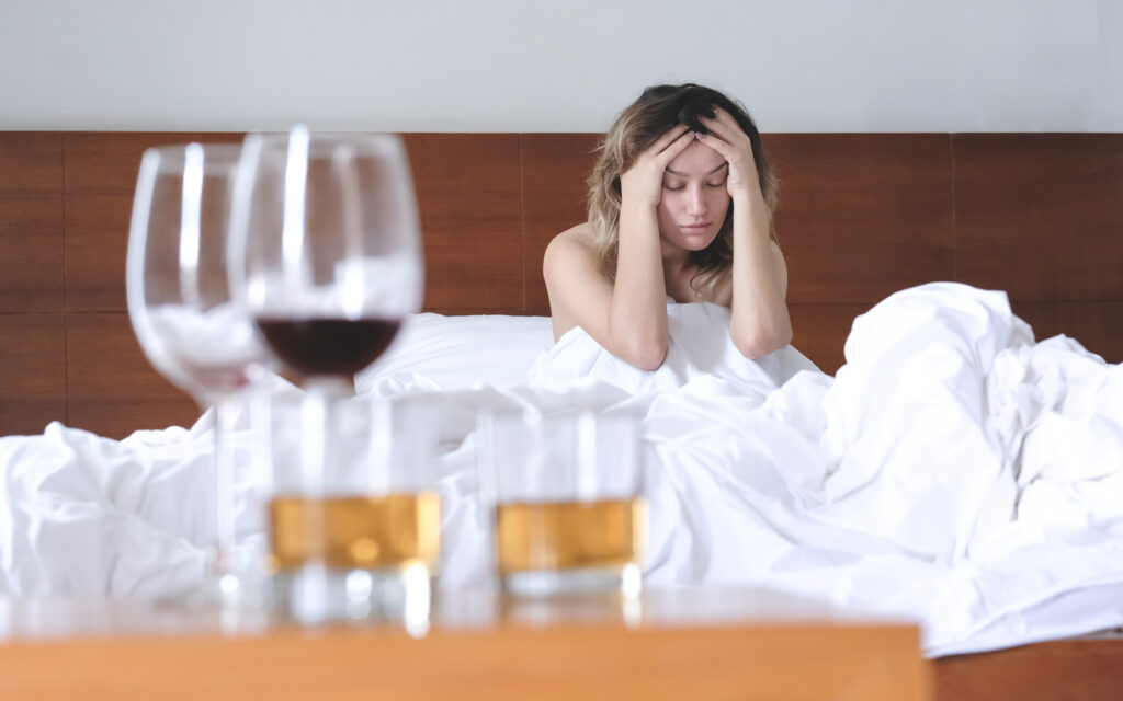 Can't sleep without alcohol 2